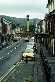 Tredegar Town clock